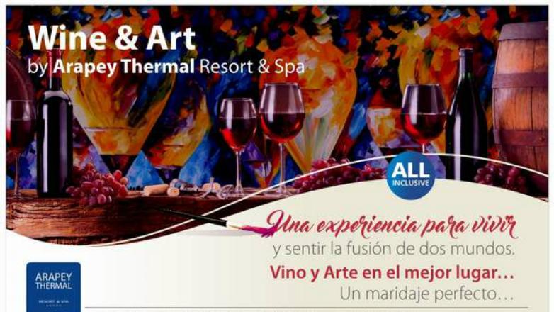 Hoy comienza una nueva edición de Wine & Art