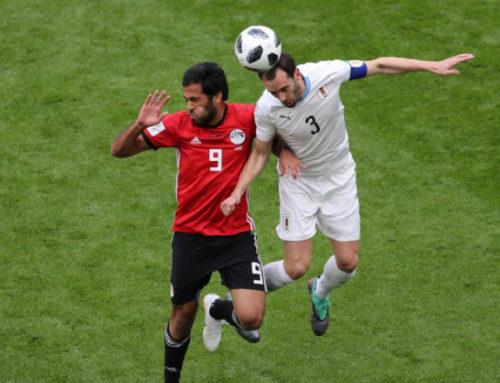 """La palabra de Diego Godín: """"Hicimos un partidazo, dimos una buena imagen"""""""