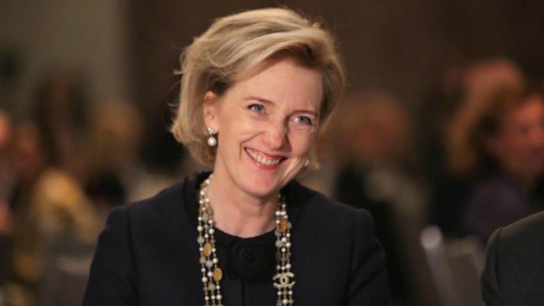 La princesa Astrid de Bélgica llegó a Uruguay en una misión económica