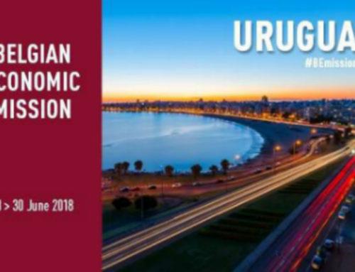 Bélgica busca aumentar comercio y reforzar lazos con Uruguay