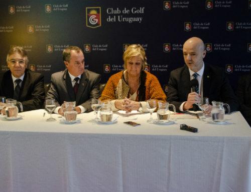 El Club de Golf del Uruguay lleva desde ahora la marca país