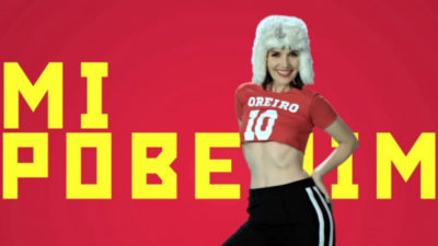 Natalia Oreiro no se conforma con una y sacó otra canción para el Mundial