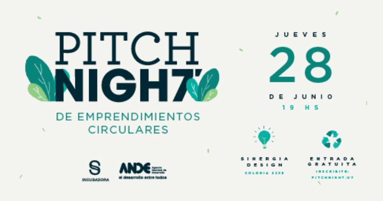 Llega una nueva Pitch Night de emprendedores circulares