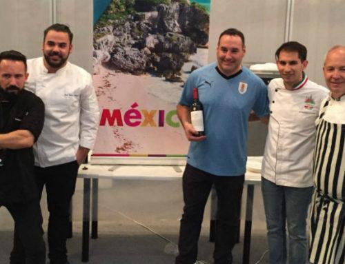 Uruguay y México realizaron primer intercambio gastronómico en el Mundial de Rusia