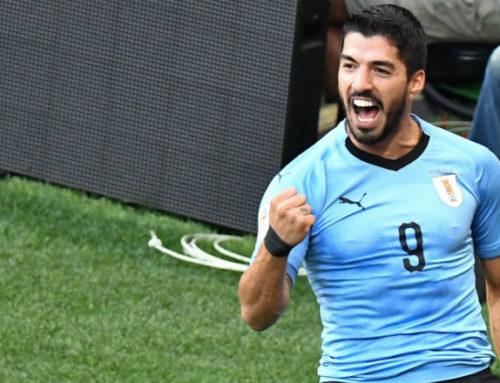 Suárez es el primer uruguayo en anotar en tres copas del mundo distintas