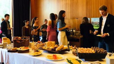 Uruguay despliega en Rusia lo mejor de su candombe y gastronomía