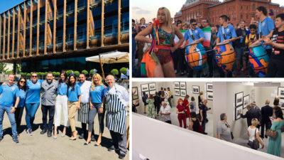 Porque no todo pasó en las canchas, los productos y servicios uruguayos también se destacaron en Moscú durante el Mundial