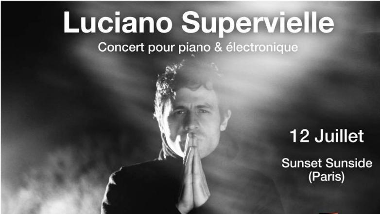 Luciano Supervielle actuará en París y en el Festival Internacional de Jazz de Montreux