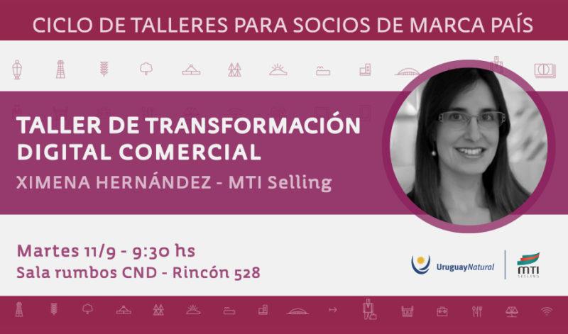 Taller de Transformación digital comercial para socios de marca país