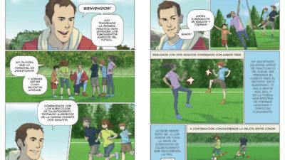 Zona Editorial y Fundación Celeste crean un Manual de Fútbol para niños y niñas
