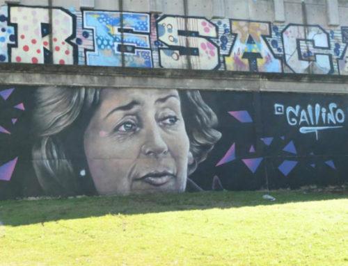 Los muros de Uruguay se llenan de rostros famosos