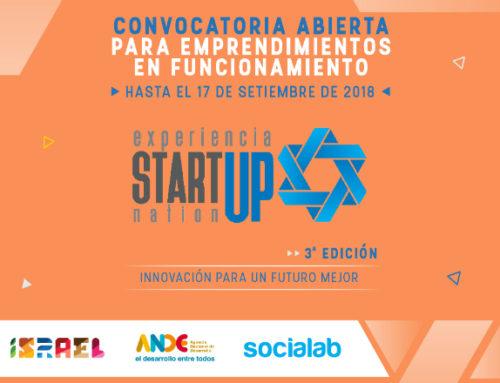 """Atención emprendedores: el concurso """"Experiencia Startup Nation"""" está en marcha"""