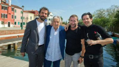 Mujica fue ovacionado en el Festival de Venecia