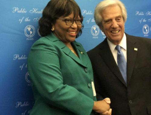 Vázquez recibe en EE.UU distinción Héroe de la Salud Pública de las Américas