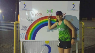 Carlita Dadomo corrió 689 kilómetros en 6 días y batió el récord sudamericano