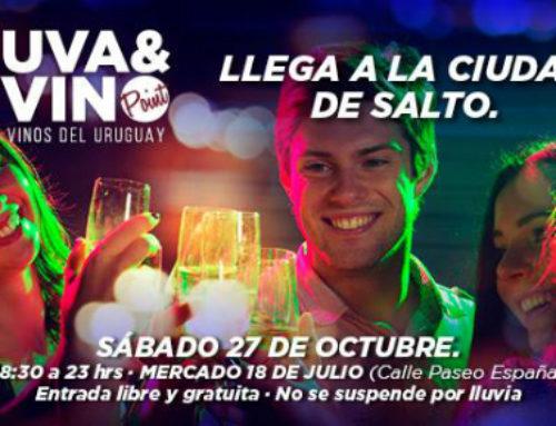 Llega UVA & VINO Point de Vinos del Uruguay a Salto