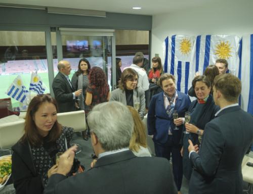 La marca Uruguay Natural acompaño a la Celeste en Londres y París