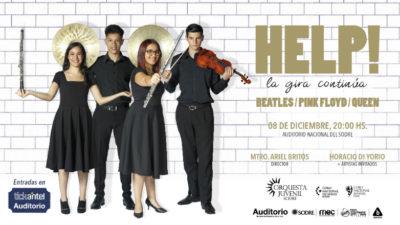 La Orquesta Juvenil del Sodre vuelve con Help! y recauda fondos para gira internacional