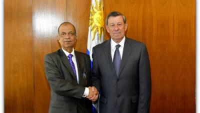 Uruguay continuará contribuyendo a las operaciones de mantenimiento de la paz de ONU