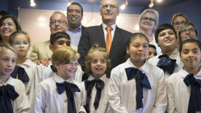 500 niños aprenderán francés en la escuela