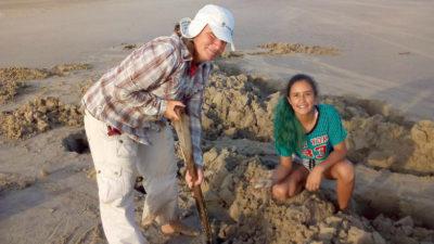 Almejas Palmares: pesca artesanal en La Coronilla con distribución en todo el este y Montevideo