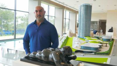 El hombre que trajo las esculturas millonarias a Punta del Este