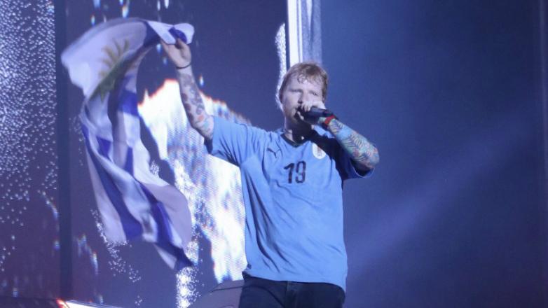 Ed Sheeran cautivó al público uruguayo