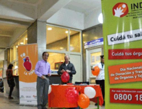 Uruguay supera al promedio de donantes de América Latina