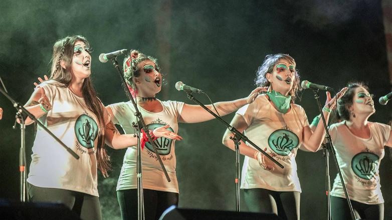 Cientos de mujeres murguistas del Cono Sur se reunieron en Montevideo