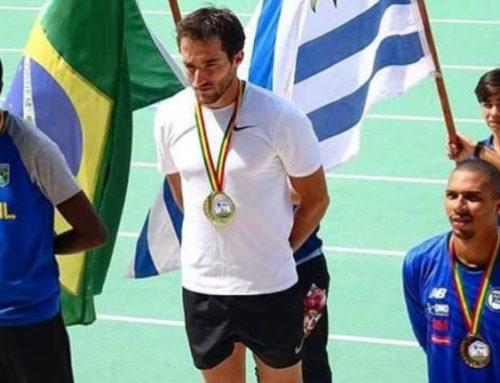 Emiliano Lasa ganó dos medallas de oro en tres días