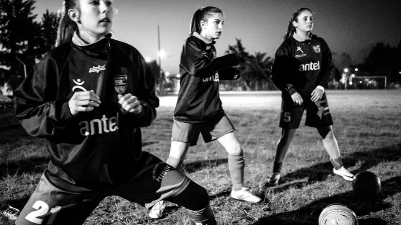 Una muestra que pone al fútbol femenino infantil como protagonista principal