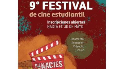 Llega la 9° Edición del Festival de Cine Estudiantil del Uruguay