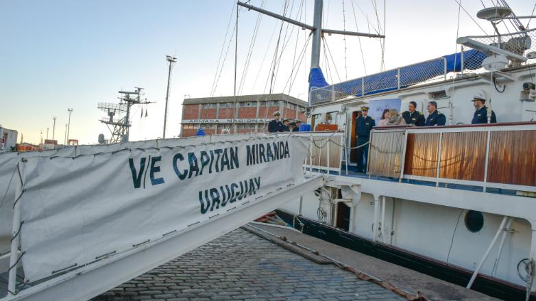 Uruguay Natural recorrerá América en la travesía del Capitán Miranda