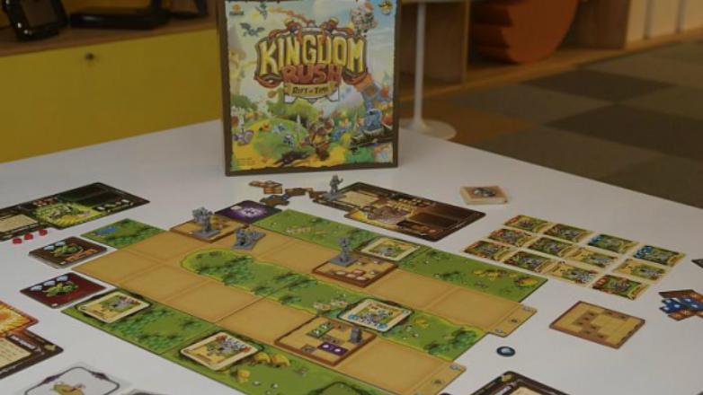 La versión de mesa del videojuego uruguayo Kingdom Rush captó más de US$ 1 millón