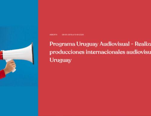 Atención creadores: Uruguay Audiovisual convoca y apoya a producciones de todo el mundo que se realicen en el país