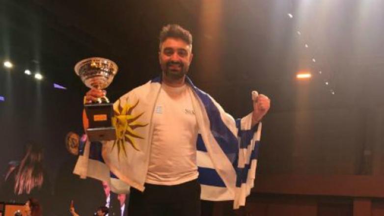 Uruguay ya es campeón, pero no en fútbol: un duraznense es el mejor peluquero de América