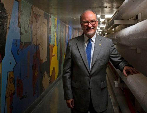 Un mural escondido de Paez Vilaró sale a la luz en un túnel de Estados Unidos