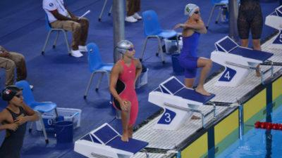 Panamericanos: la nadadora Micaela Sierra debutó en el día de su 15° cumpleaños
