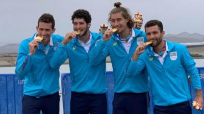 El remo le dio a Uruguay la primera medalla de oro en los Juegos Panamericanos