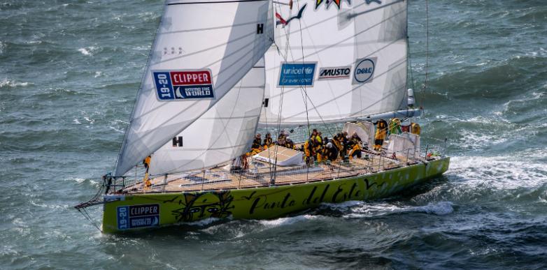 La Clipper Race 2019-2020 ya largó y en octubre llegará a Punta del Este