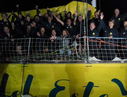 Velero Punta del Este ganó la primera pierna de la regata internacional Clipper Race 2019-2020