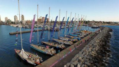 Los uruguayos continuarán con la Clipper Race al partir de Punta del Este