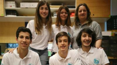 Liceales de Migues en Dubái recibieron premio en competencia de robótica