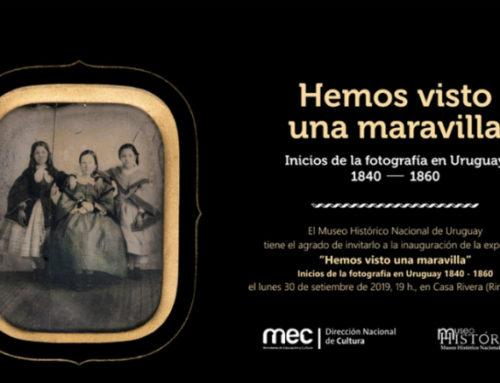 """""""Hemos visto una maravilla"""": la muestra que refleja los inicios de la fotografía en Uruguay"""