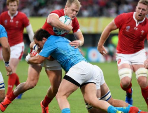 Los Teros, los que más tacklearon en el Mundial de Rugby