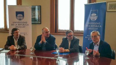 Universidad de la República e Institut Pasteur de Montevideo firmaron memorandos de entendimiento con la fundación Fiocruz