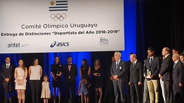 """Nicolás Landauer obtuvo el """"Altar Olímpico"""" al mejor deportista del año"""