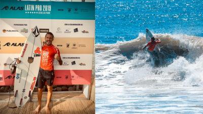 Lucas Madrid, Julián Schweizer, Juan Fischer, Surf Alas Latin Tour
