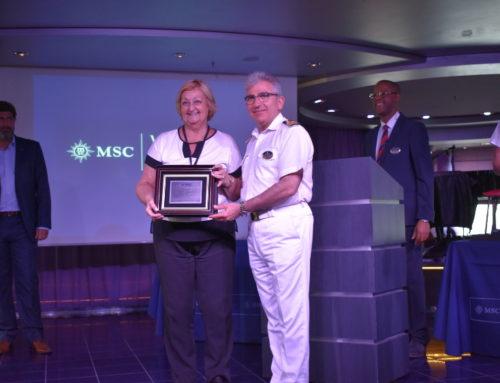 Crucero MSC Magnífica World Cruise arribó por primera vez al Puerto de Montevideo en su travesía mundial