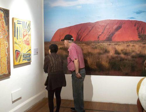 Un gigante ignoto: Tiempo de sueños: arte indígena de Australia, en el MAPI hasta el 10 de mayo